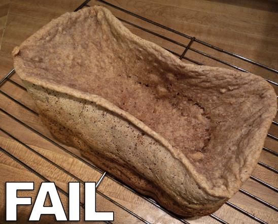 Evde ekmek yapamamak